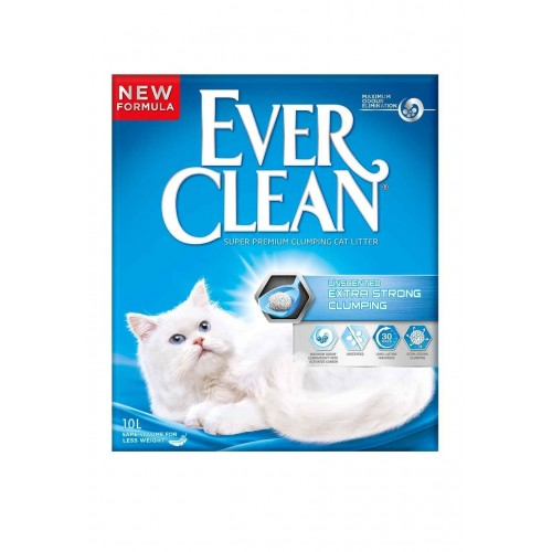 EVERCLEAN EXTRA STRONG CLUMPING UNSCENTED 10L
