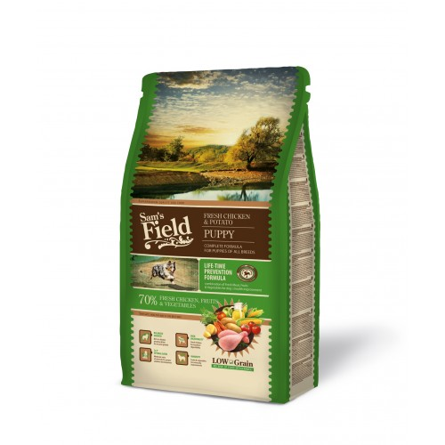 SAMS FIELD PUPPY CHICKEN & POTATO 2.5kg