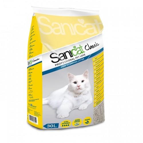 SANICAT CLASSIC NON CLUMPING LITTER 30L