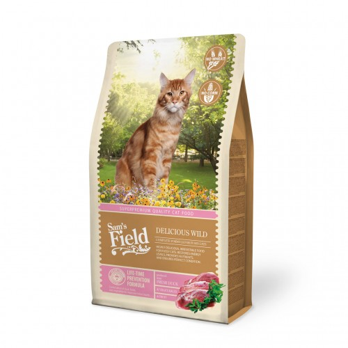 SAMS FIELD CAT DELICIOUS WILD 7,5kg