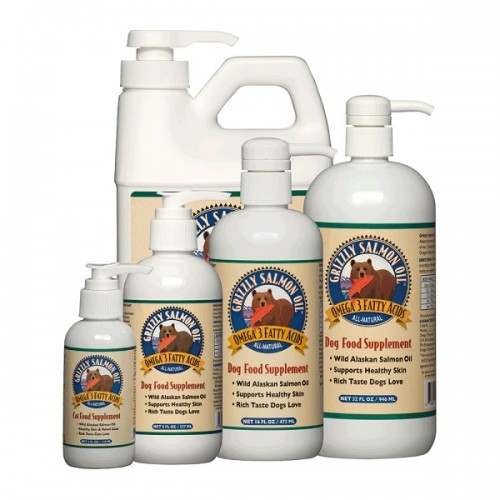 GRIZZLY PET PRODUCTS ΛΑΔΙ ΣΟΛΟΜΟΥ 500ml