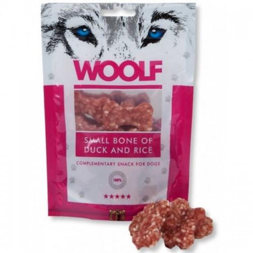 WOOLF DUCK & RICE BONE 100g