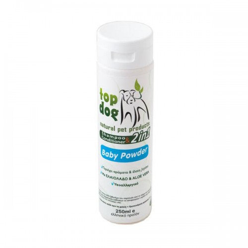 TOP DOG SHAMPOO BABY POWDER 250ml