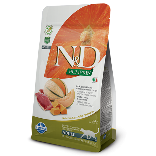N&D CAT PUMPKIN DUCK & CANTALOUPE 300g