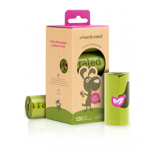 EARTH RATED BIODEGRADABLE ROLL LAVΕNDER 21 ΤΕΜ