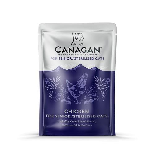 CANAGAN CAT SENIOR & STERILISED CHICKEN 85g ΦΑΚ
