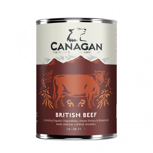 CANAGAN DOG BRITISH BEEF 400g KON