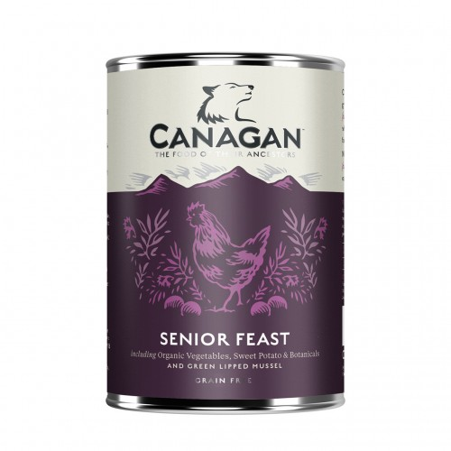 CANAGAN DOG SENIOR FEAST 400g KON