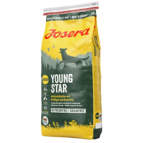 JOSERA DOG YOUNG & STAR 15kg