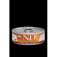 N&D CAT PUMPKIN WET CHICKEN & POMEGRANATE 80g KON