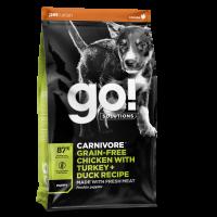 GO! DOG GF CV PUPPY CHICKEN & TURKEY & DUCK 1,6 kg
