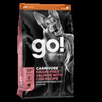 GO! DOG GF CV SALMON & COD 1,6 kg