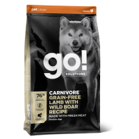 GO! DOG GF CV LAM & WILD BOAR 1,6 kg