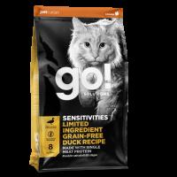 GO! CAT LID SENSITIVITIES DUCK 1,4 kg