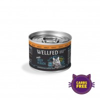 WELLFED CAT ADULT DUCK & BEEF 200 g KON