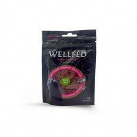 WELLFED CAT MINI DUCK FILLETS & CATNIP 50g