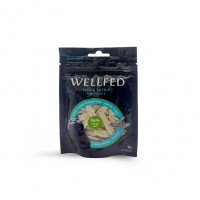 WELLFED CAT MINI FISH FILLETS & CATNIP 50g