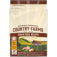 COUNTRY FARMS DOG GRAIN FREE ADULT CHICKEN 11kg
