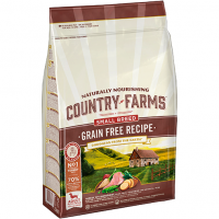 COUNTRY FARMS DOG GRAIN FREE ADULT SMALL BREED TURKEY 2,5 kg