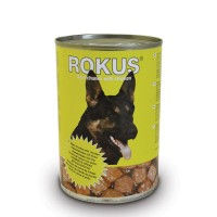 ROKUS DOG CHUNKS ΚΟΤΟΠΟΥΛΟ 410g ΚΟΝ