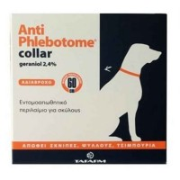 ANTIPHLEBOTOME COLLAR DOG 60cm