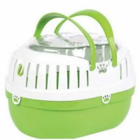 HAPPYPET SMALL ANIMAL CARRIER GREEN SMALL