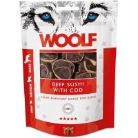 WOOLF BEEF & COD SUSHI 100g