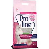 PROLINE CAT LITTER BENTONITE BABY POWDER 10L