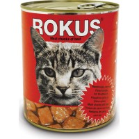 ROKUS CAT CHUNKS ΒΟΔΙΝΟ 410g