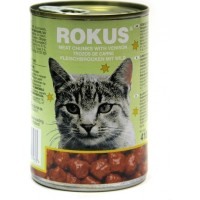 ROKUS CAT CHUNKS ΕΛΑΦΙ 410g