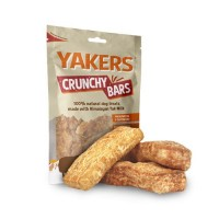 YAKERS CRUNCHY BARS 80g