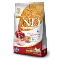 N&D DOG CHICKEN & POMEGRANATE ADULT MINI 2,5kg