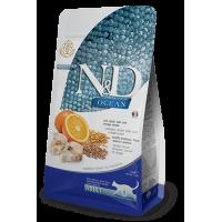 N&D CAT LOW GRAIN FISH & ORANGE ADULT 5kg