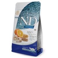 N&D CAT LOW GRAIN FISH & ORANGE ADULT 10kg