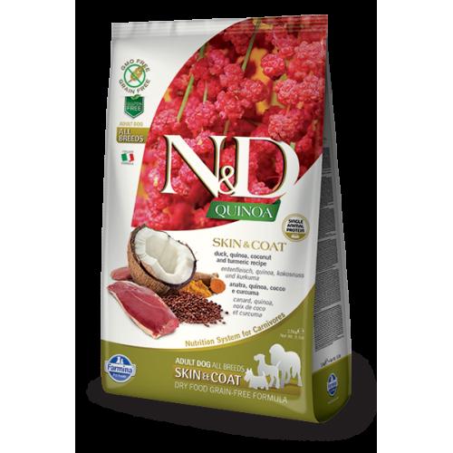 N&D DOG QUINOA SKIN & COAT DUCK & COCONUT 7kg