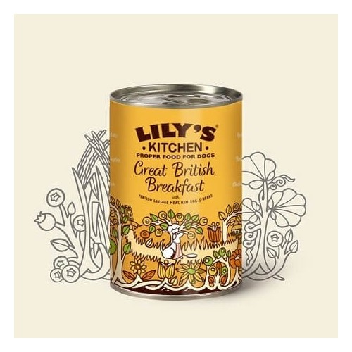 LILY'S KITCHEN DOG GREAT BRITISH BREAKFAST 400g KON