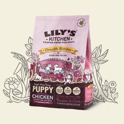 LILY'S KITCHEN DOG PUPPY CHICKEN & SALMON 1kg