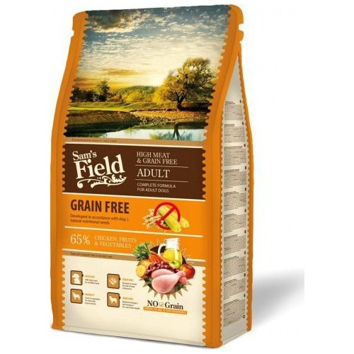 SAMS FIELD GRAIN FREE CHICKEN 13kg